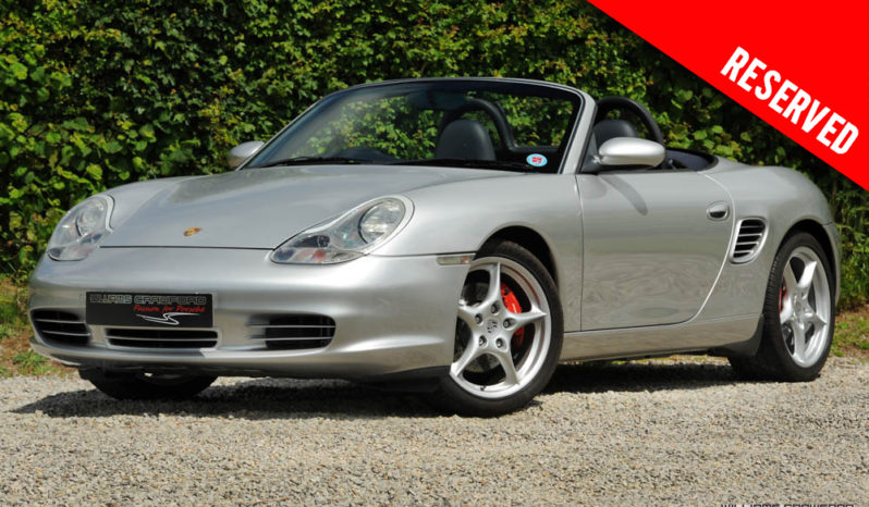 RESERVED – Porsche 986 Boxster S manual 2003