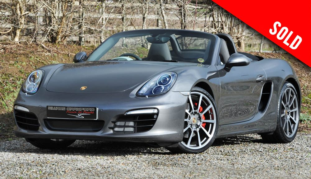 2015 Porsche Boxster S 981 PDK sold by Williams Crawford