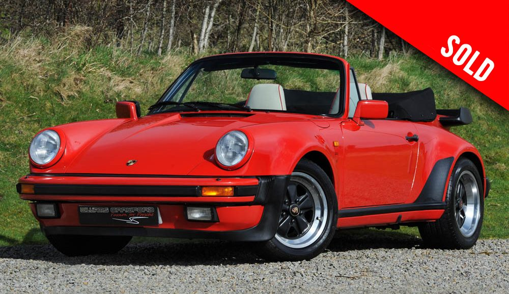 1988 Porsche 911 Carrera 3.2 Supersport (M491) cabriolet sold by Williams Crawford