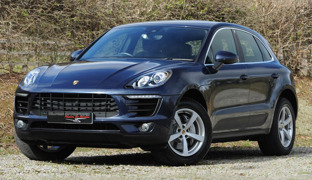 Front view of 2015 Porsche MAcan S 3.0 V6 turbo diesel PDK for sale