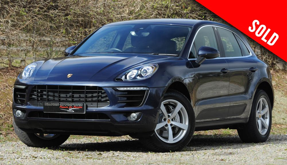 2015 Porsche Macan S 3.0 litre V6 turbo diesel PDK sold by Williams Crawford