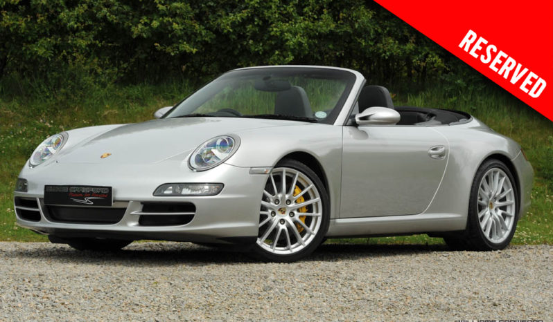 RESERVED – Porsche 997 Carrera 2 S manual cabriolet with PCCB 2005