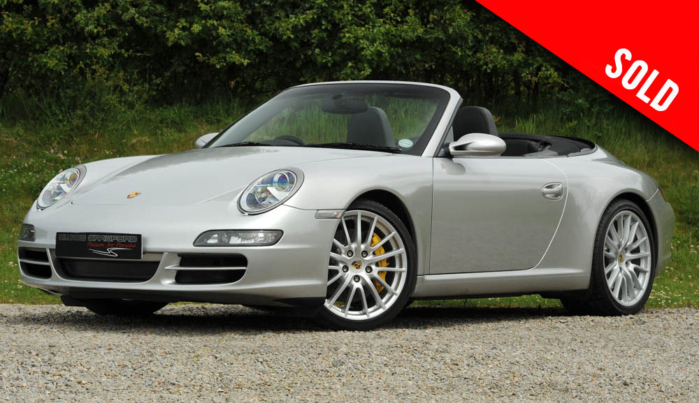 2005 Porsche 997 Carrera 2 S manual cabriolet with PCCB sold by Williams Crawford