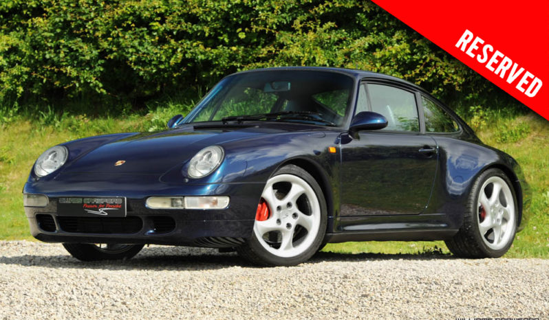 RESERVED – Porsche 993 Carrera 4 S LHD manual coupe 1998