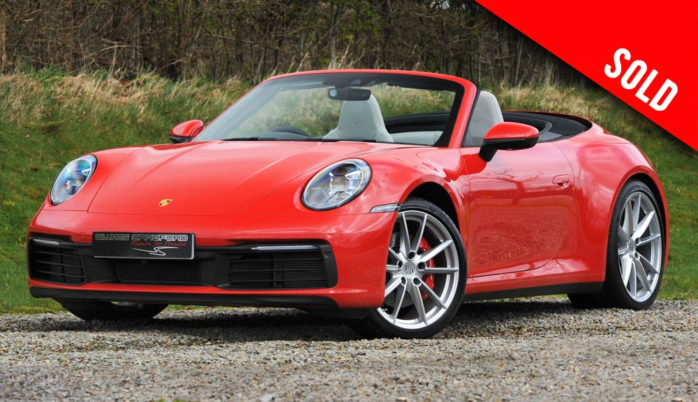 2020 Porsche 992 Carrera 2 S PDK cabriolet sold by Williams Crawford