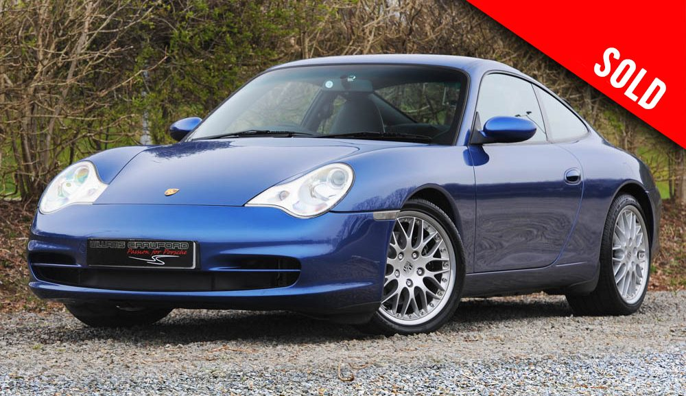 2003 Porsche 997 Carrera 2 manual coupe sold by Williams Crawford