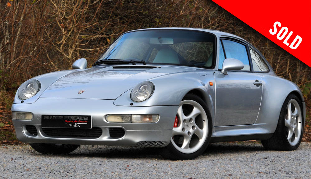 1996 Porsche 993 Carrera 4 S manual coupe sold by Williams Crawford