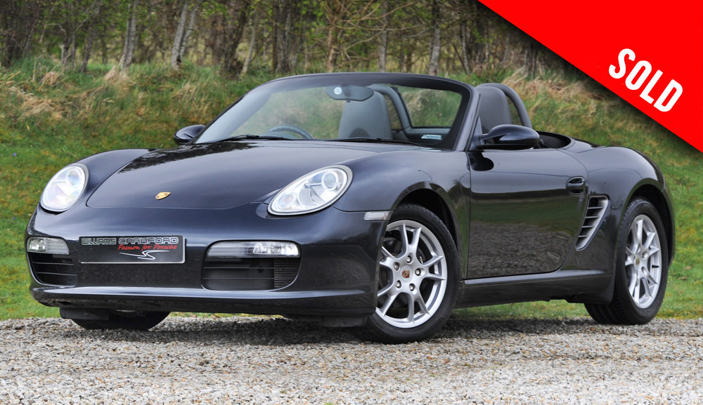 2006 Porsche Boxster 987 manual sold by Williams Crawford