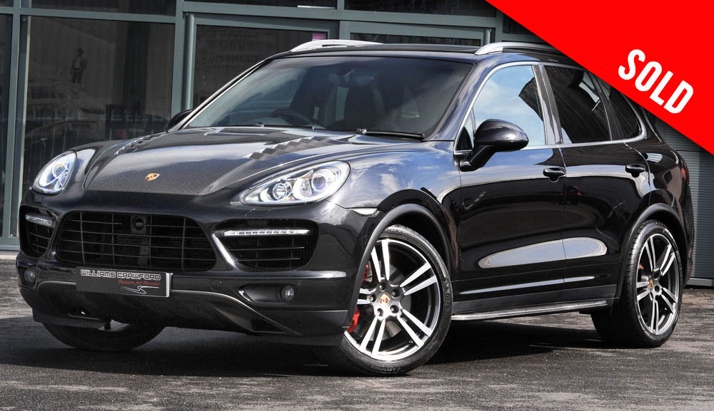 2011 model year Modified Porsche Cayenne Turbo Tiptronic S sold by Williams Crawford