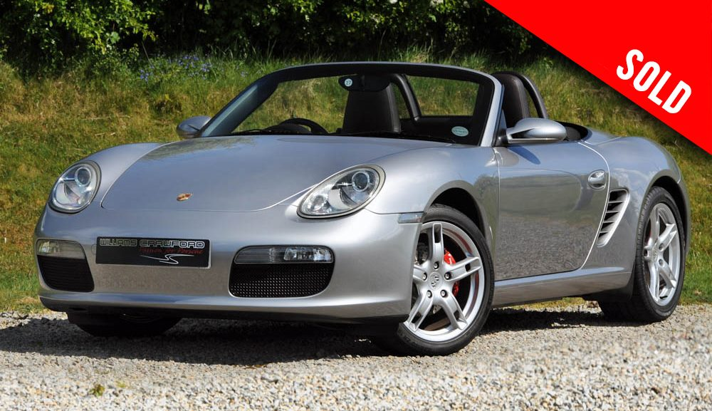 2007 Porsche 987 Boxster manual sold by Williams Crawford