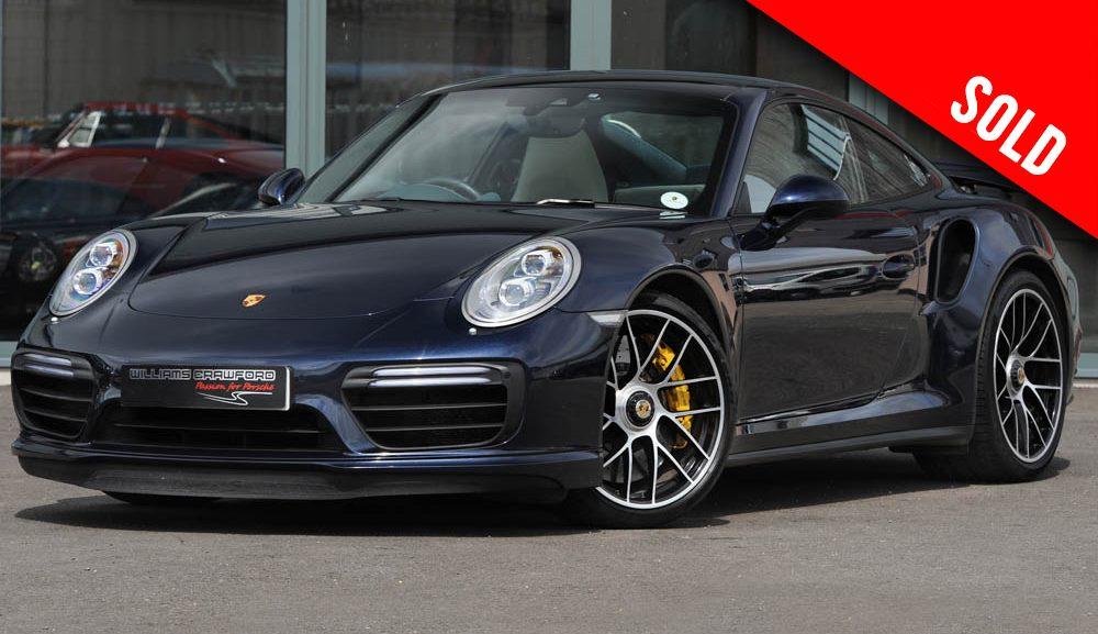2017 model year Porsche 991.2 Turbo S PDK coupe sold by Williams Crawford