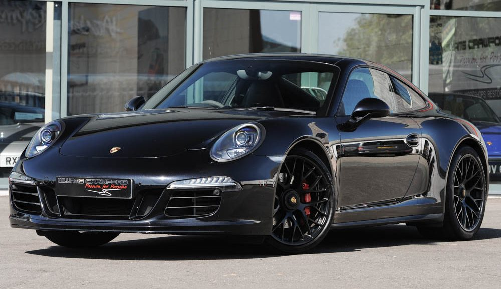 Front view of 2015 Porsche 991 GTS PDK coupe for sale