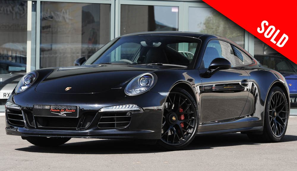 2015 Porsche 991 GTS PDK coupe sold by Williams Crawford