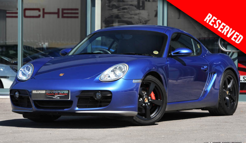 RESERVED – Porsche 987 Cayman S manual 2006 model year