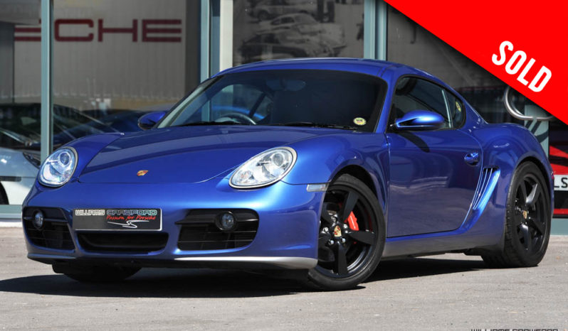2006 model year Porsche 987 Cayman S manual sold by Williams Crawford