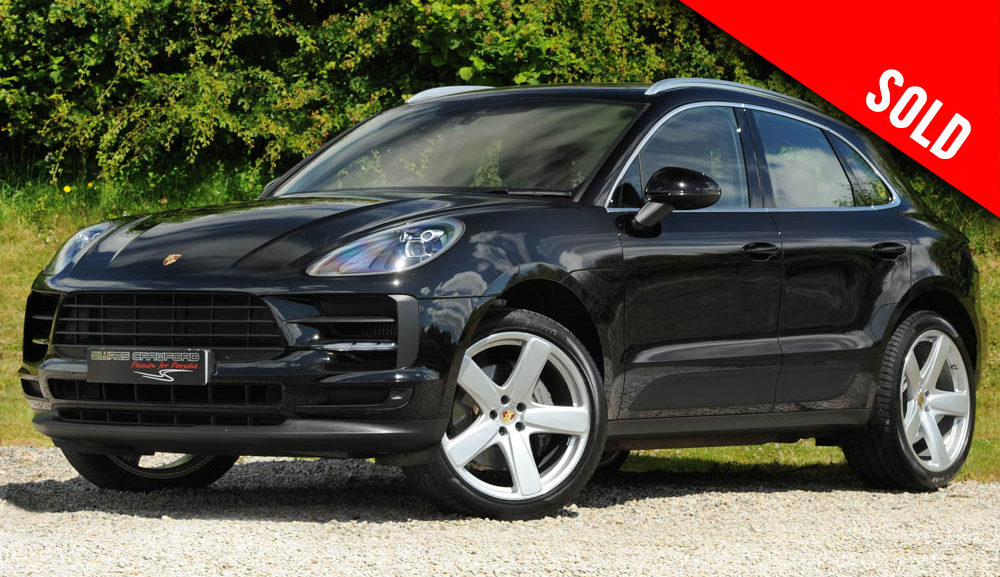 2019 Porsche Macan S 3.0 V6 petrol PDK sold by Williams Crawford