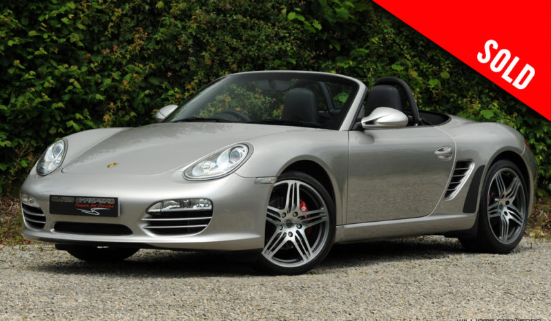 2012 model year Porsche 987 (Gen II) Boxster manual sold by Williams Crawford