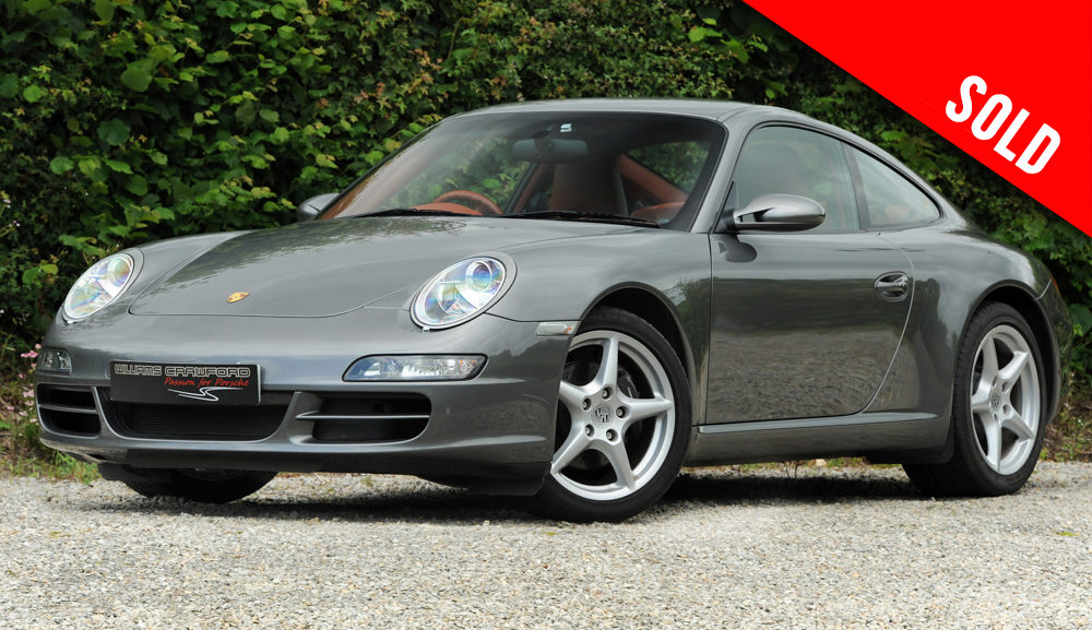 2007 Porsche 997 Carrera 2 Tiptronic S coupe sold by Williams Crawford
