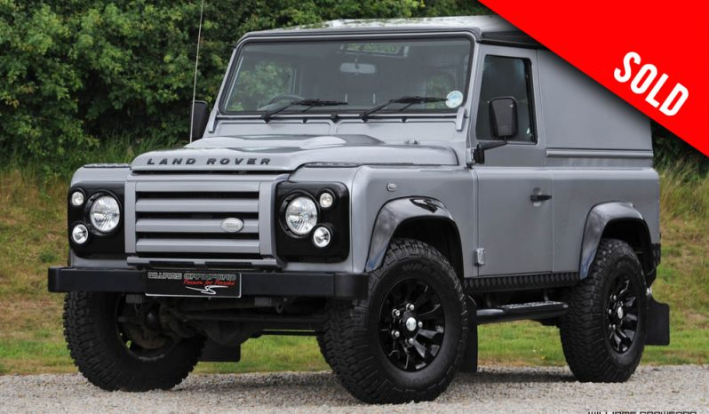 2012 Land Rover Defender 90 X-Tech Limited Edition TD manual sold by Williams Crawford