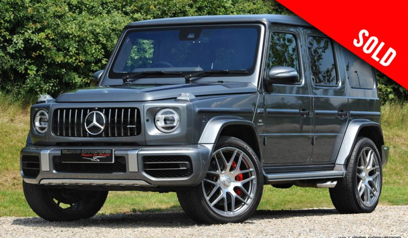 2019 Mercedes Benz AMG G63 auto sold by Williams Crawford