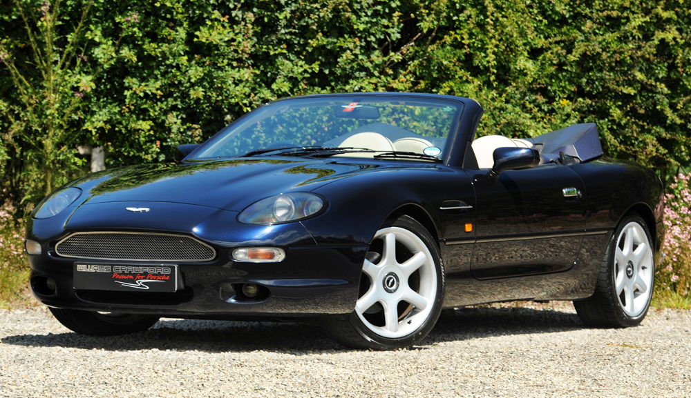 Front view of 1997 Aston Martin DB7 I6 Volante manual for sale