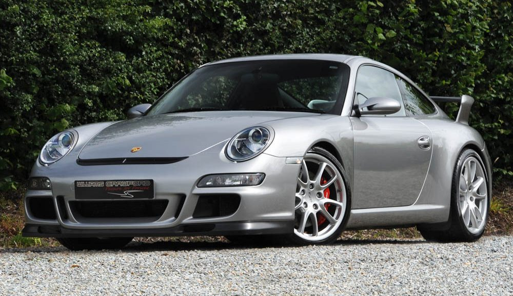 Front view of 2008 Porsche 997 GT3 manual for sale