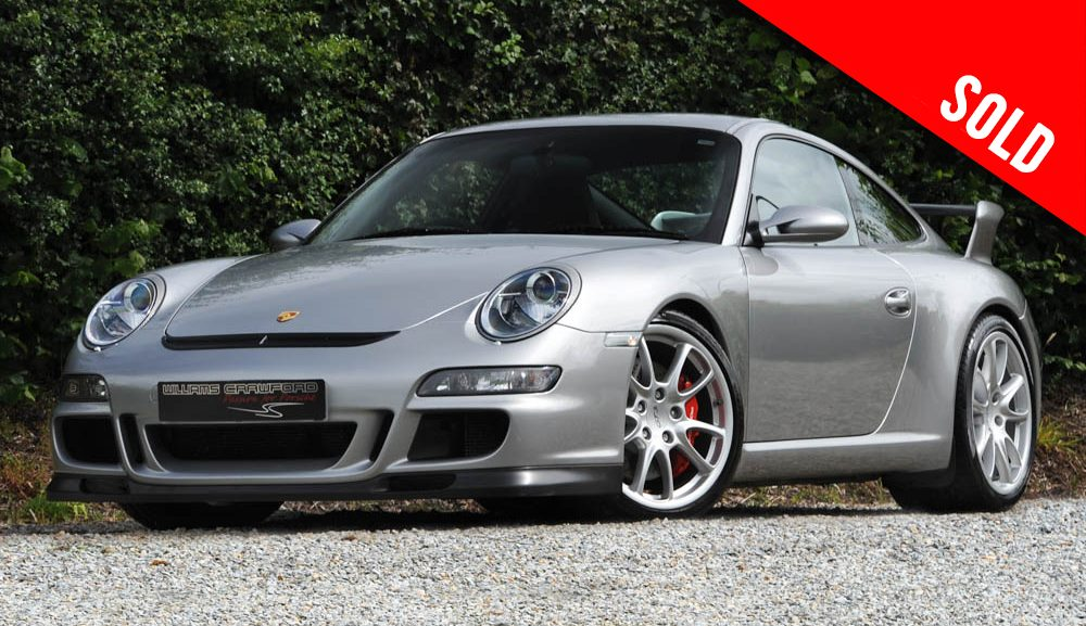 2008 Porsche 997 GT3 sold by Williams Crawford