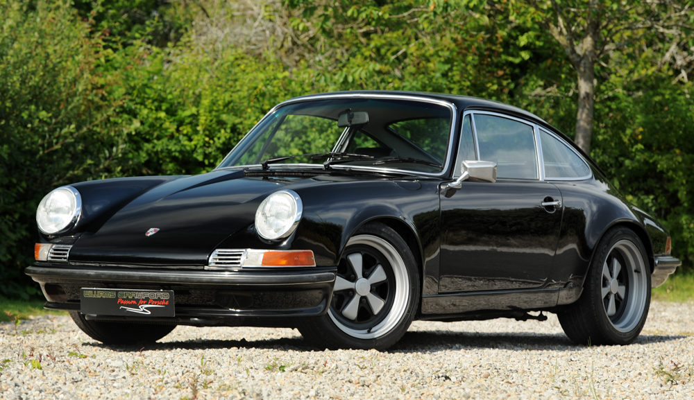 Front view of 1988 Porsche 911 Backdate 3.6 litre LHD coupe for sale