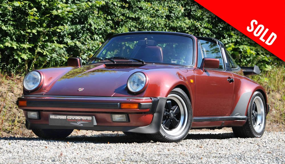 1986 Porsche 911 Carrera 3.2 Turbo-Look SSE Targa sold by Williams Crawford