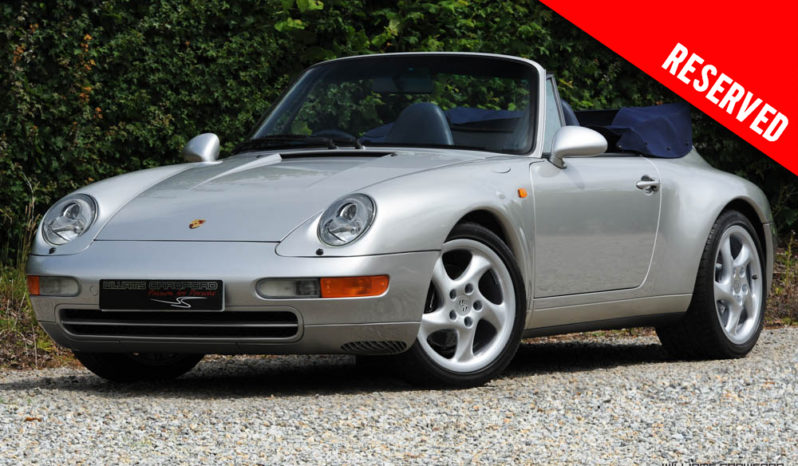 RESERVED – Porsche 993 Carrera 2 Tiptronic S cabriolet 1997
