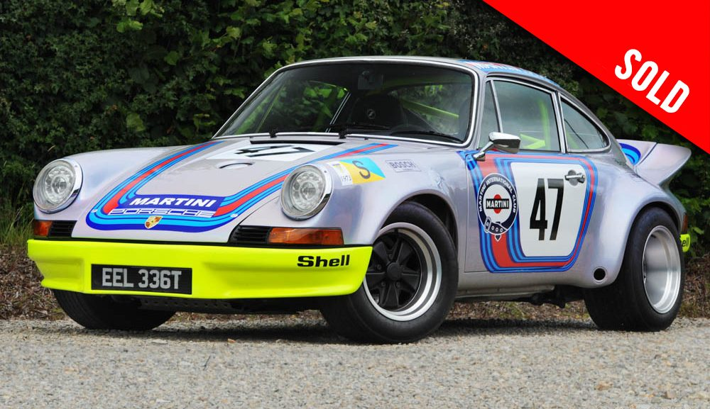 1979 Porsche 911 3.0 SC LHD 'Car 47' RSR Look sold by Williams Crawford