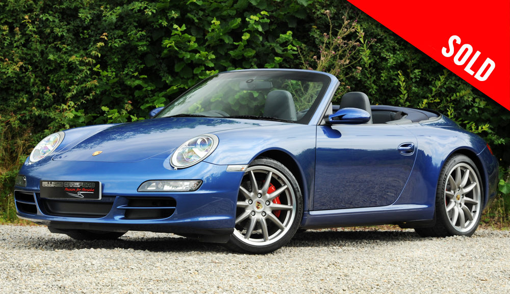 2007 Porsche 997 Carrera 2 S manual cabriolet sold by Williams Crawford