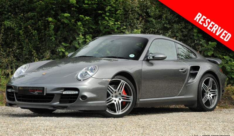 RESERVED – Porsche 997 (Gen 1.5) Turbo manual coupe 2009