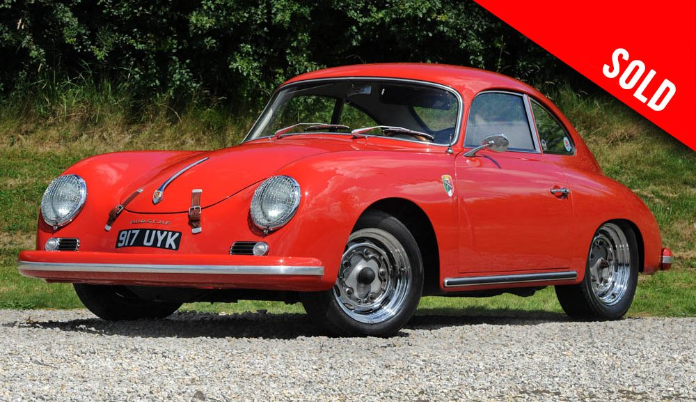1956 Porsche 356 A (T1) LHD coupe by Reutter sold by Williams Crawford