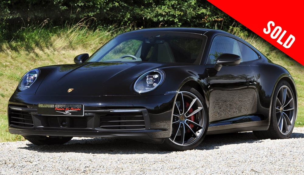 2020 model year Porsche 992 Carrera 4 S PDK coupe sold by Williams Crawford