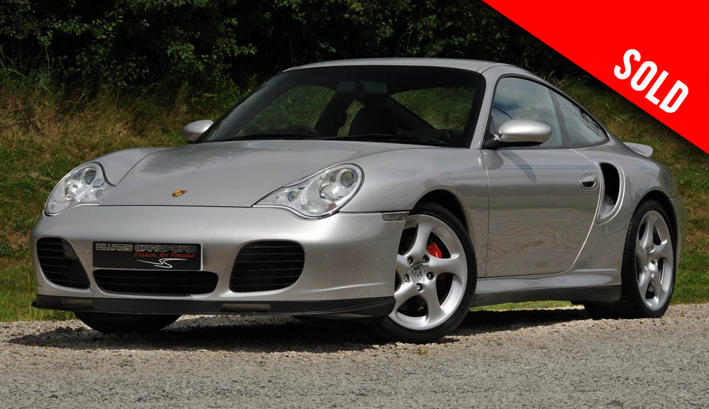 2001 Porsche 996 Turbo manual coupe sold by Williams Crawford