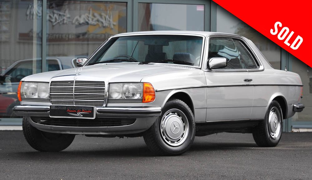 1980 Mercedes Benz 280 CE (C123) automatic sold by Williams Crawford