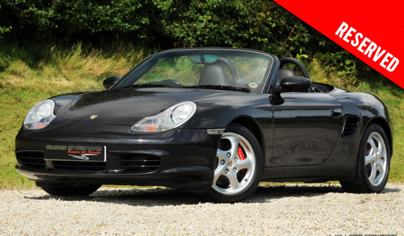RESERVED – Porsche 986 Boxster S Tiptronic S 2004
