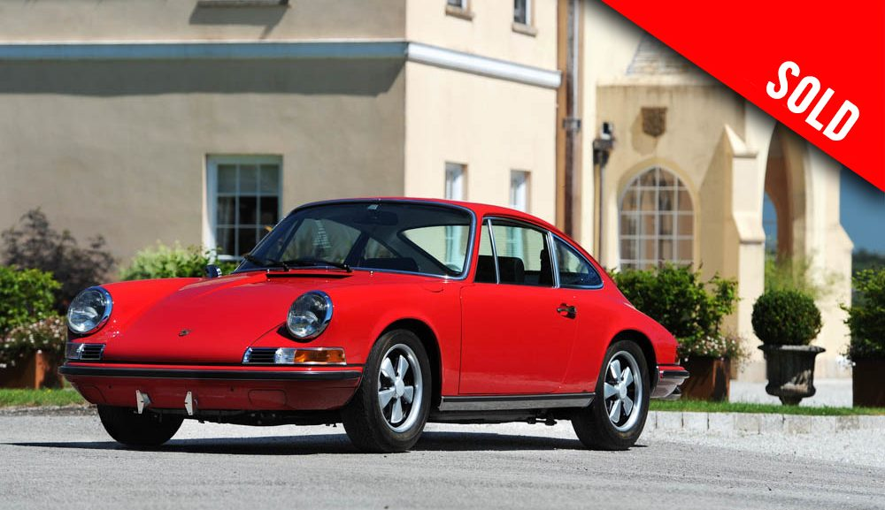 1969 Porsche 911 S RHD coupe sold by Williams Crawford