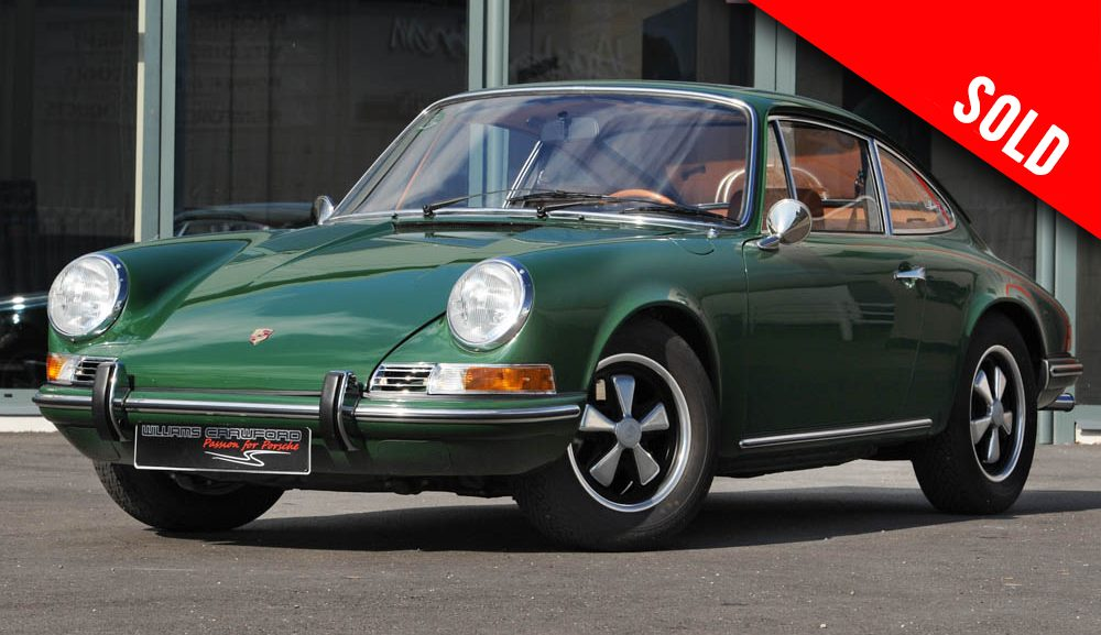 1969 Porsche 912 LHD coupe sold by Williams Crawford