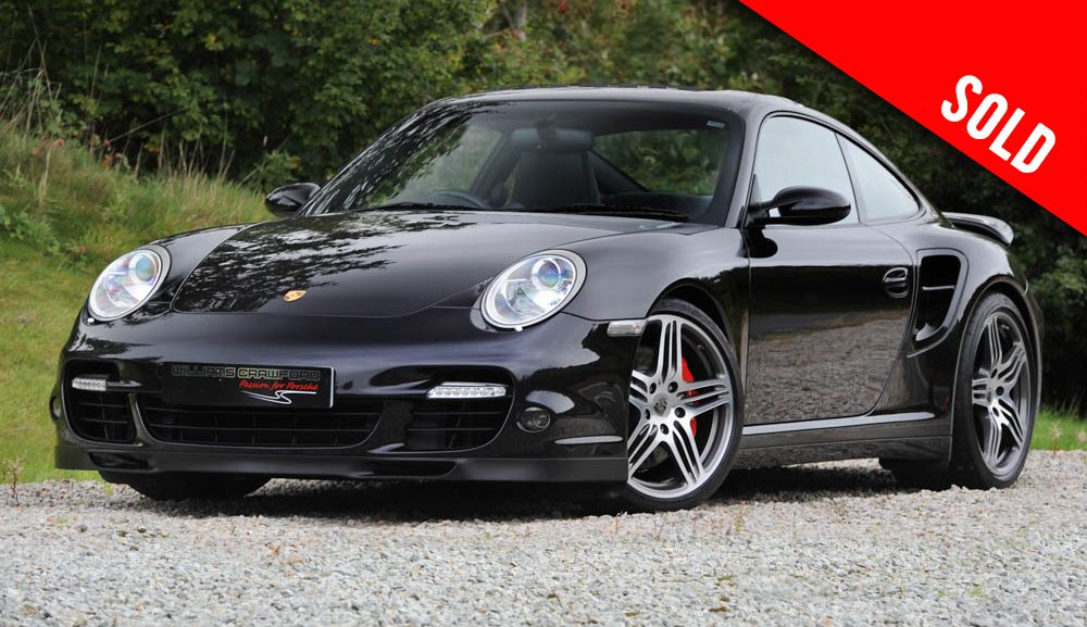 2007 model year Porsche 997 Turbo manual coupe sold