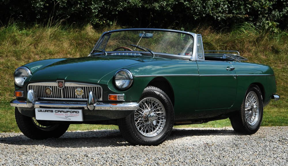 Front view of 1968 MB B Roadster for sale