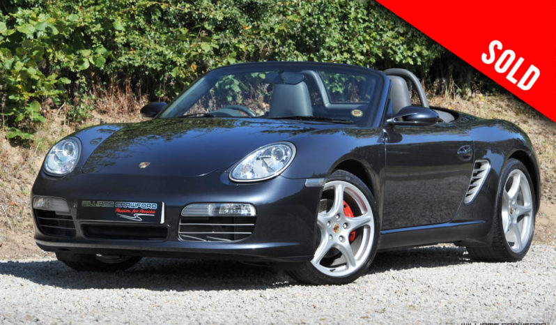 2006 Porsche Boxster S 987 manual sold by Williams Crawford