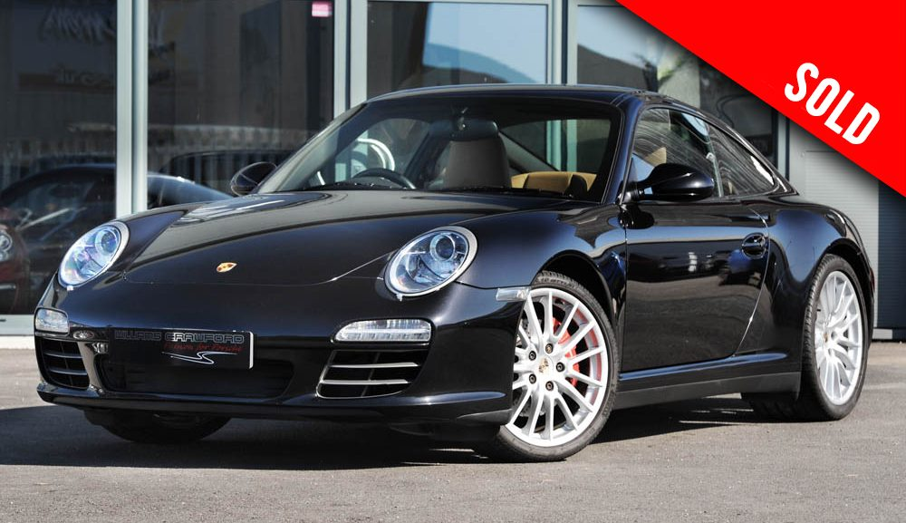 2010 Porsche 997 (Gen II) Carrera 4 S manual coupe sold by Williams Crawford