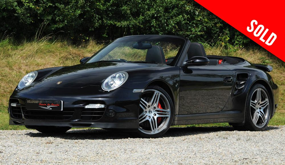2009 model year Porsche 997 Turbo Tiptronic S cabriolet