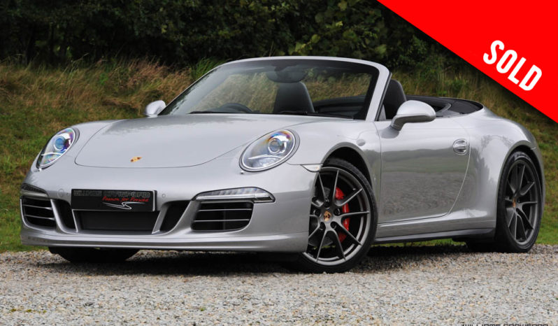 2014 Porsche 991 Carrera 4 S PDK cabriolet sold by Williams Crawford