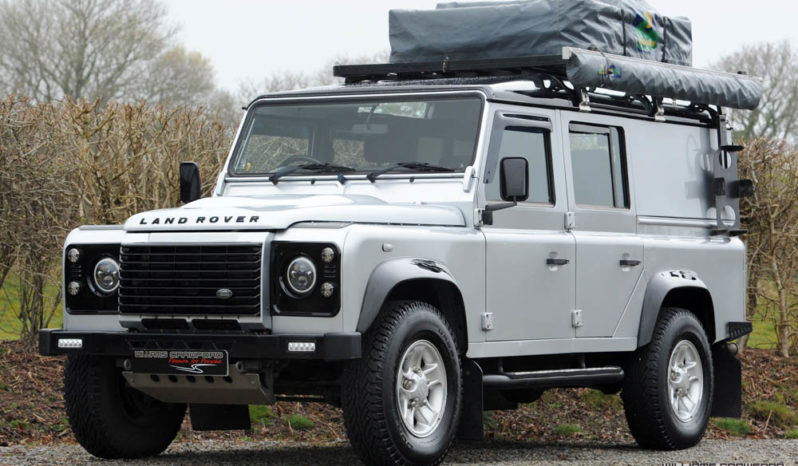 Land Rover Defender 110 XS TD Station Wagon 2012 (with Howling Moon Roof Tent)