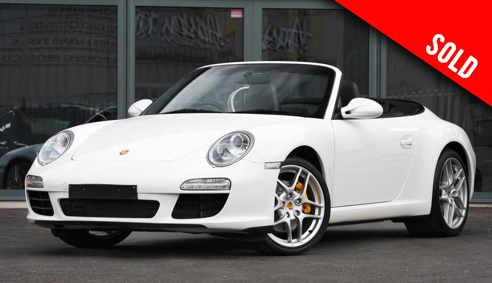 2009 Porsche 997 Gen II Carrera 2 manual cabriolet sold