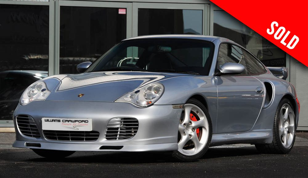 2003 Porsche 911 996 Turbo manual coupe SOLD