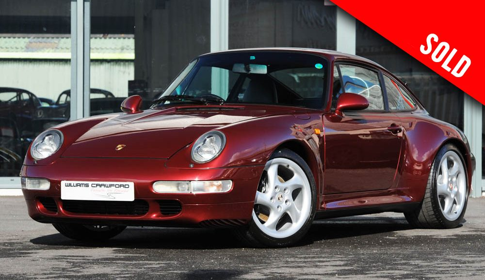 1997 Porsche 993 Carrera 2 S manual coupe sold by Williams Crawford